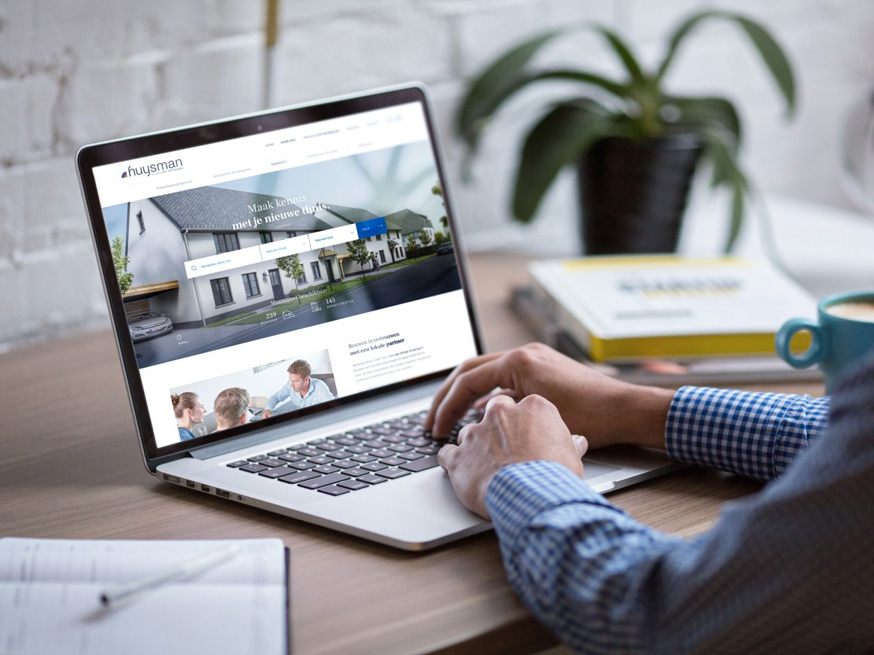 Huysman Bouw - Website design